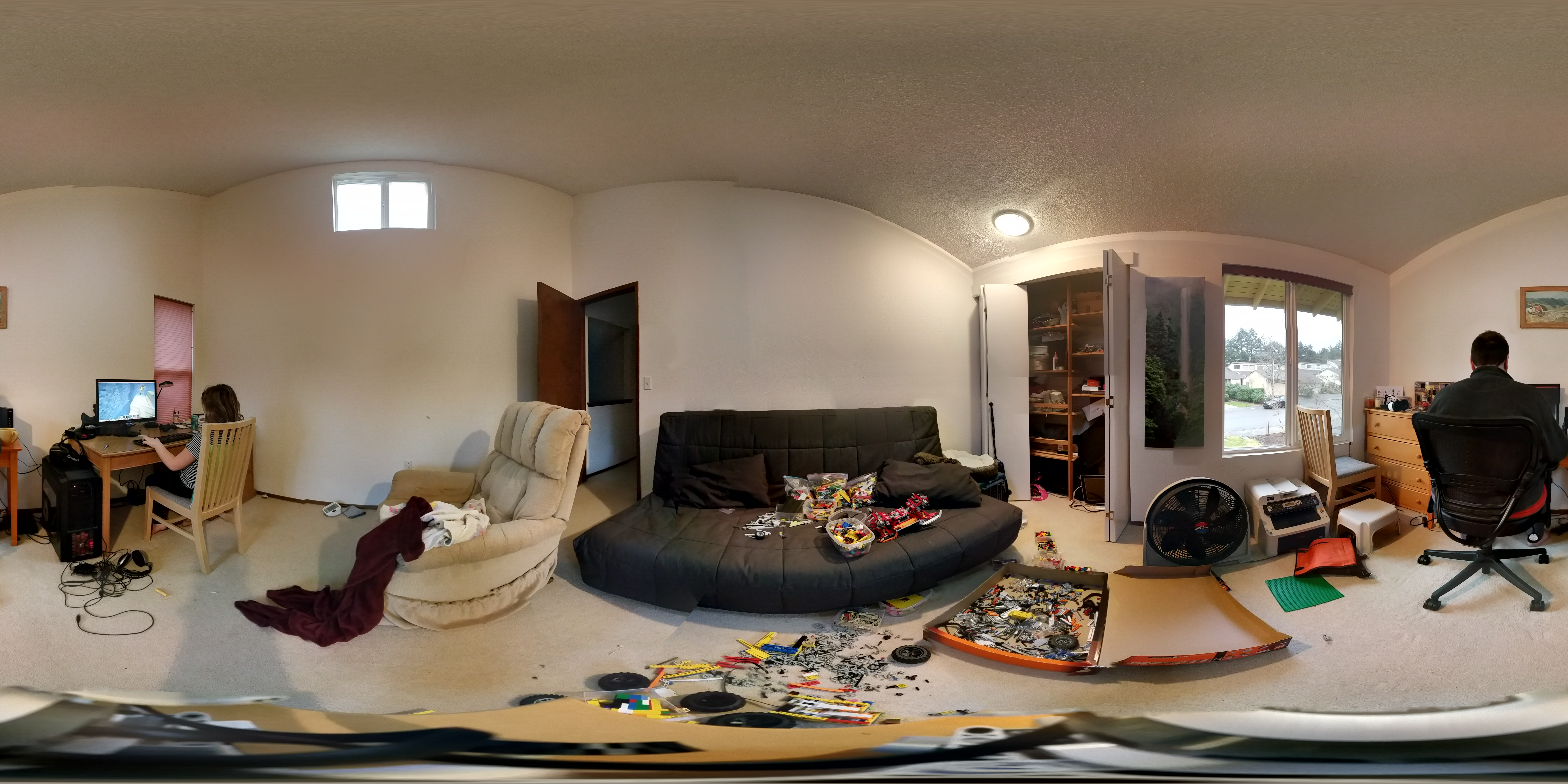 Sample 360° Photo for Gear VR taken using the Lego Photobot